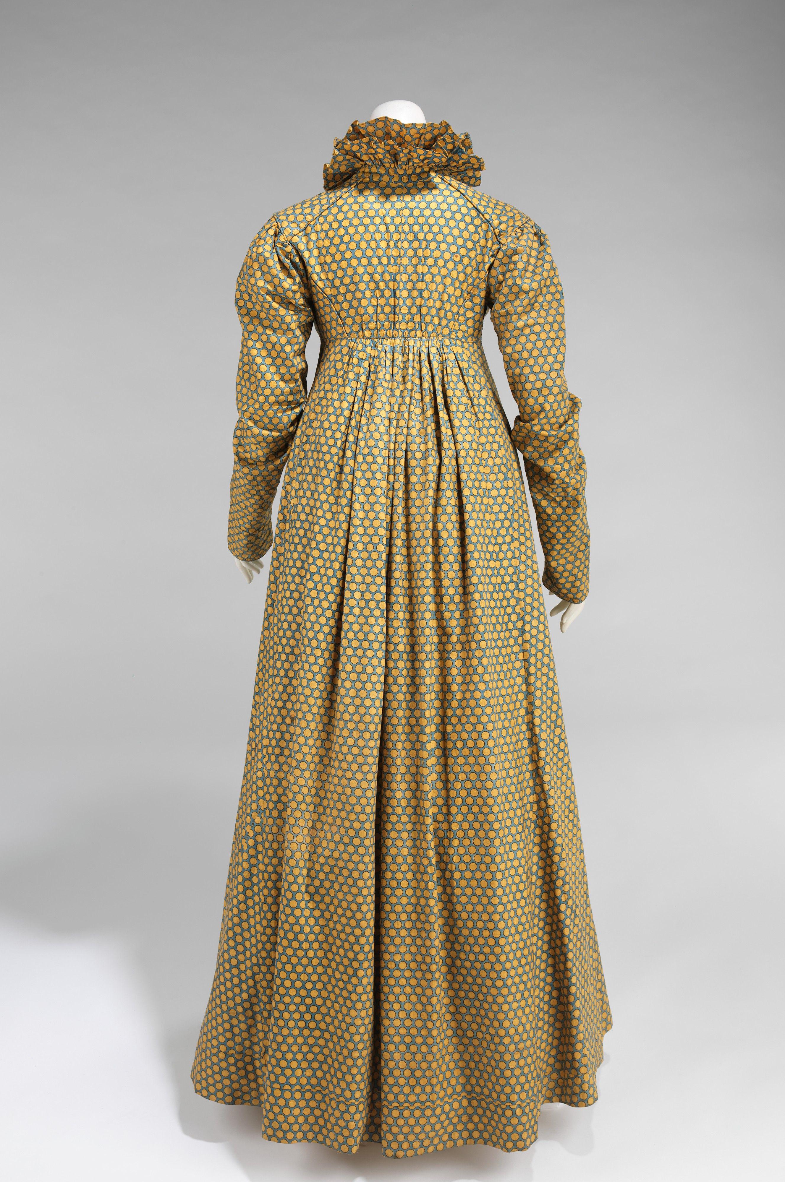 1815 Dress American Metropolitan Museum Of Art