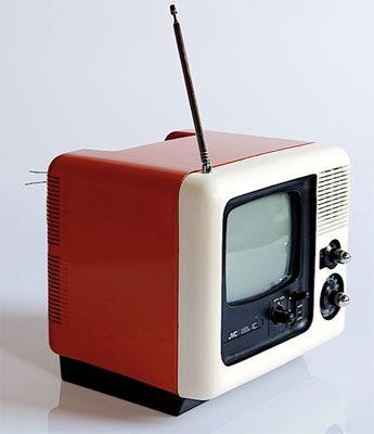 Vintage JVC 3020GM Videosphere Cube TV