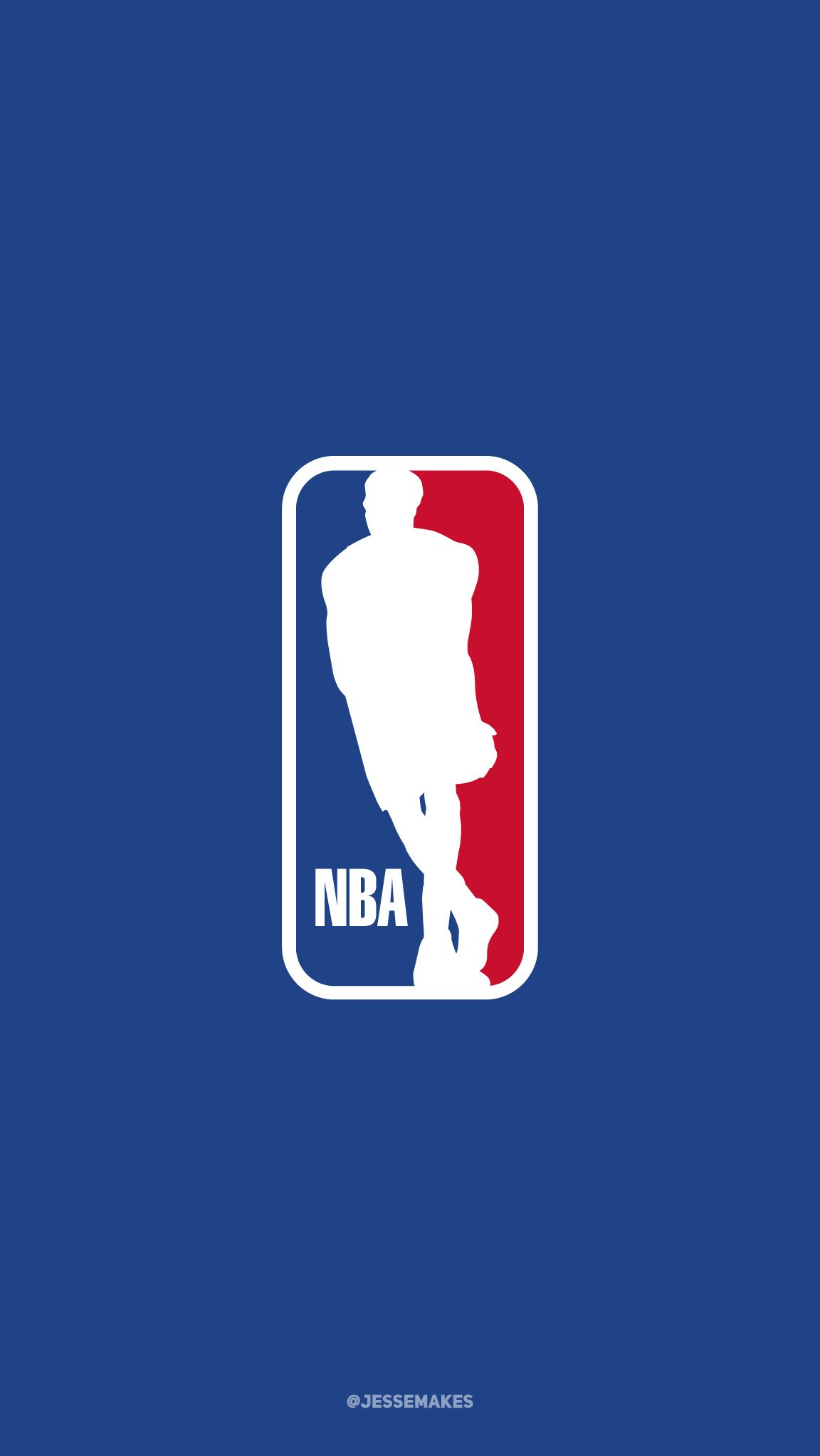 Anthony Davis as the subject of the NBA logo  Part of my NBA