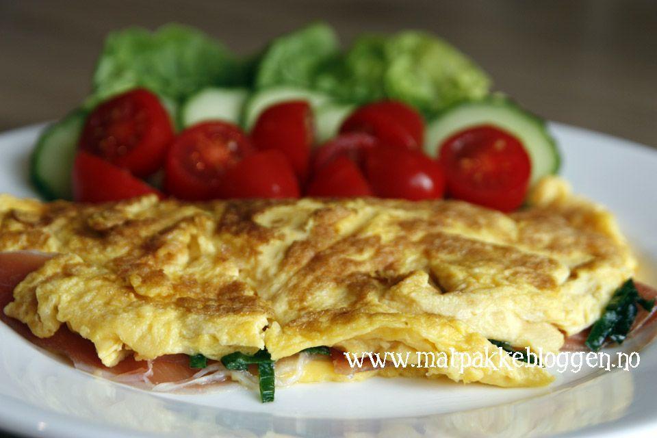 Matpakkebloggen: Frokostomelett