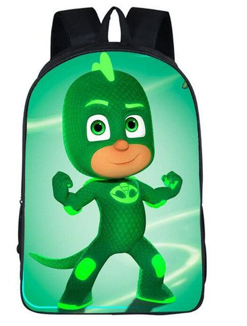 41982304cf44 Cartoon Pjmask Kids School Backpack For Boys And Girls children Cute ...