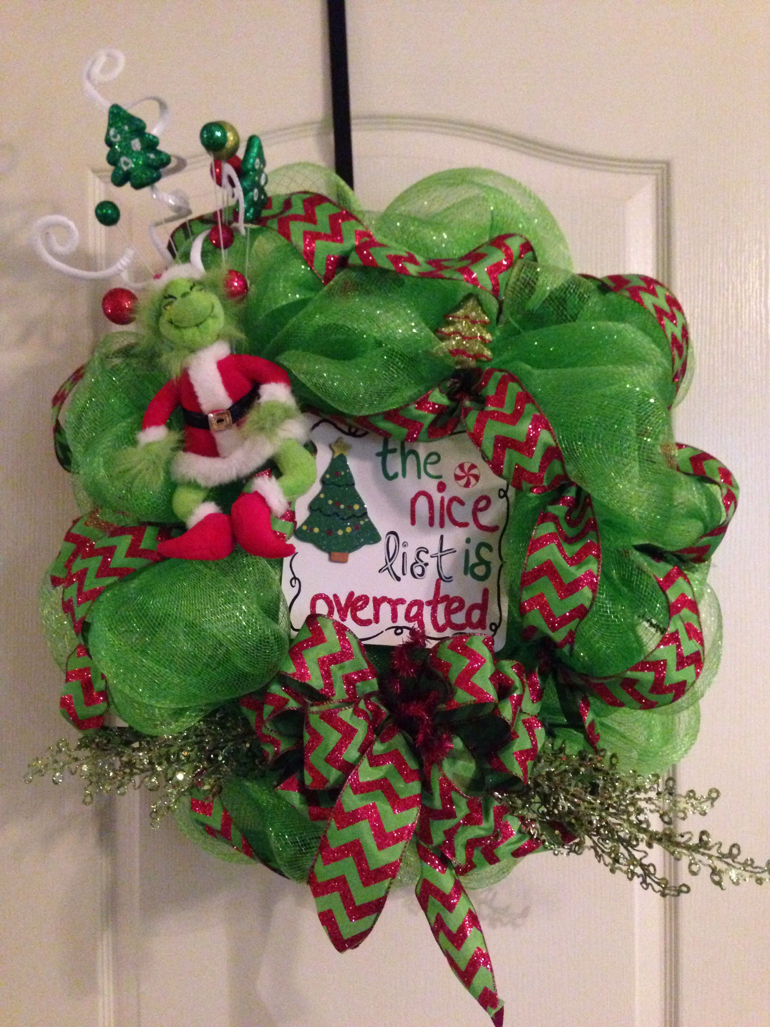 Christmas Decor Makeover: How The Grinch Stole