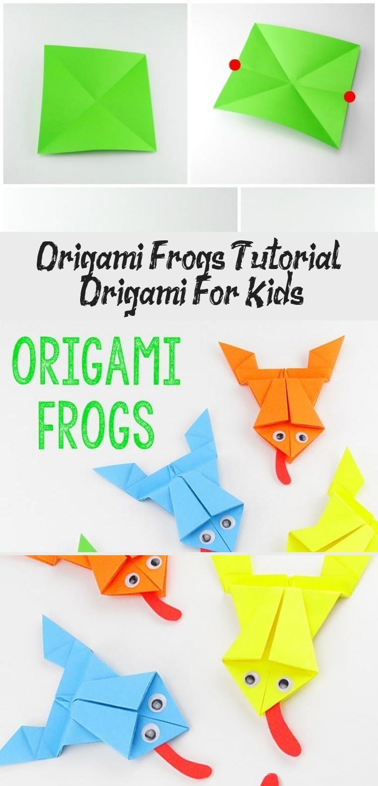 Photo of Origami Frösche Tutorial – Origami für Kinder #origamiArquitectura #origamiTur…