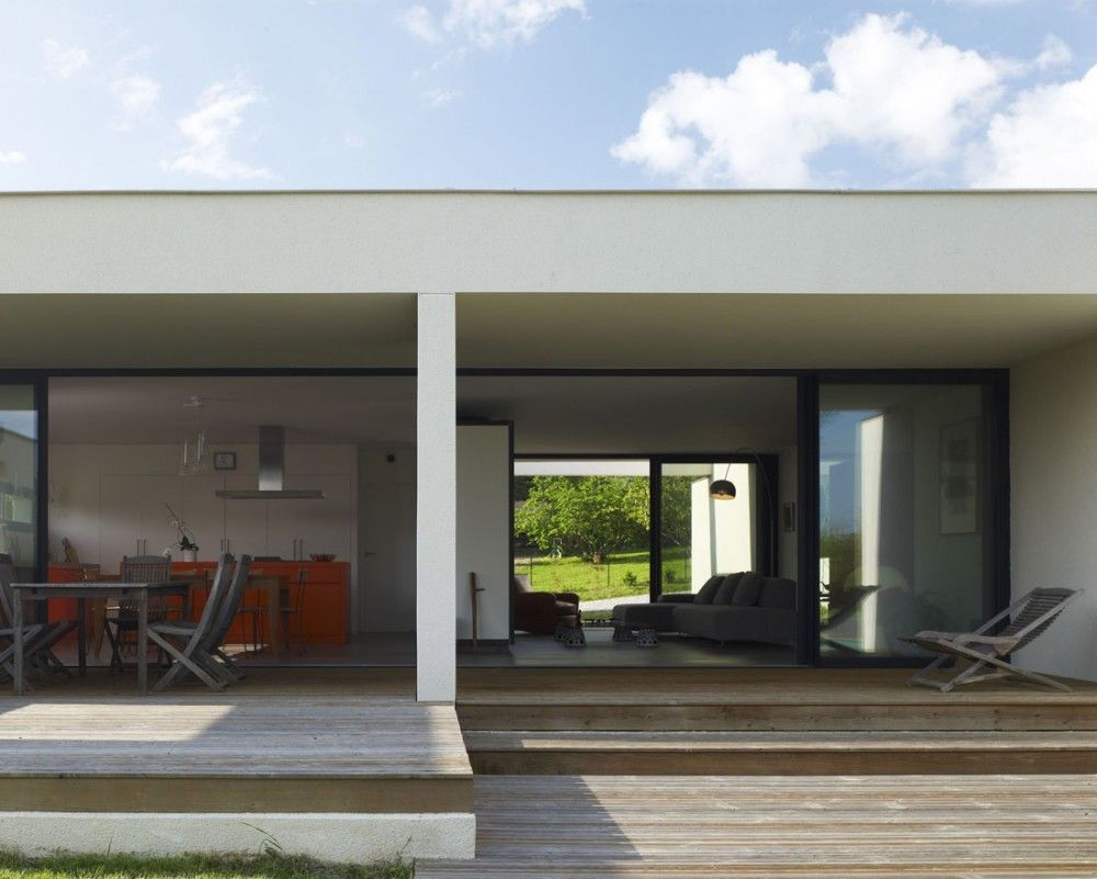 Living inside and outside also house  prax architects modern homes exteriors rh pinterest