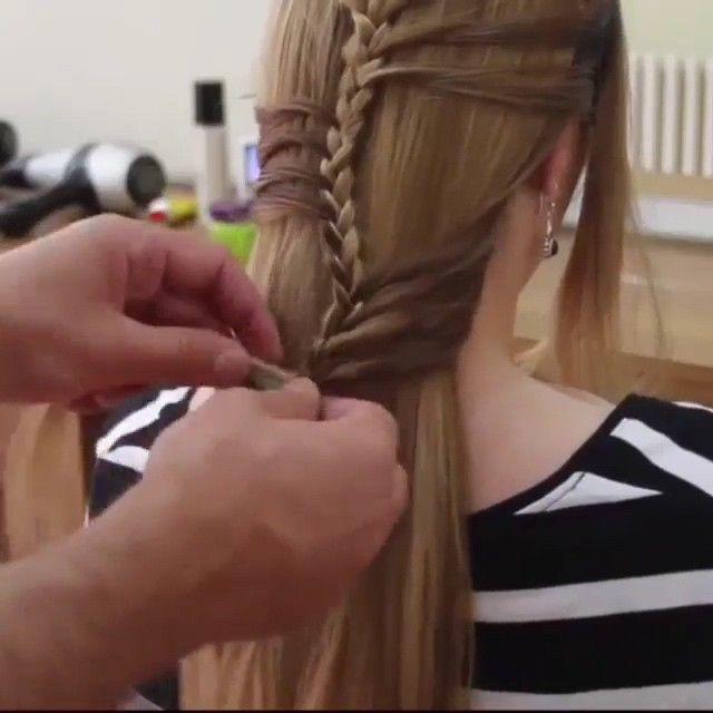 Makegirlz On Instagram Amazing Tutorial For Hairstyle By Basharhairstyles تسريحة جميله وبسيطة حسب طلب المتابعين Hair Styles Hair Beauty Hair And Nails