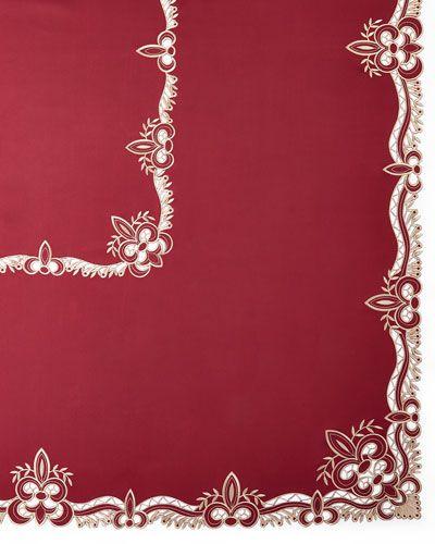 SFERRA Ellino 72 X 108 Tablecloth U0026 12 Napkins