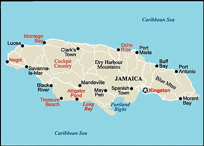 For Destination Sign Jays Th Caribbean Party Pinterest - Jamaica cities map