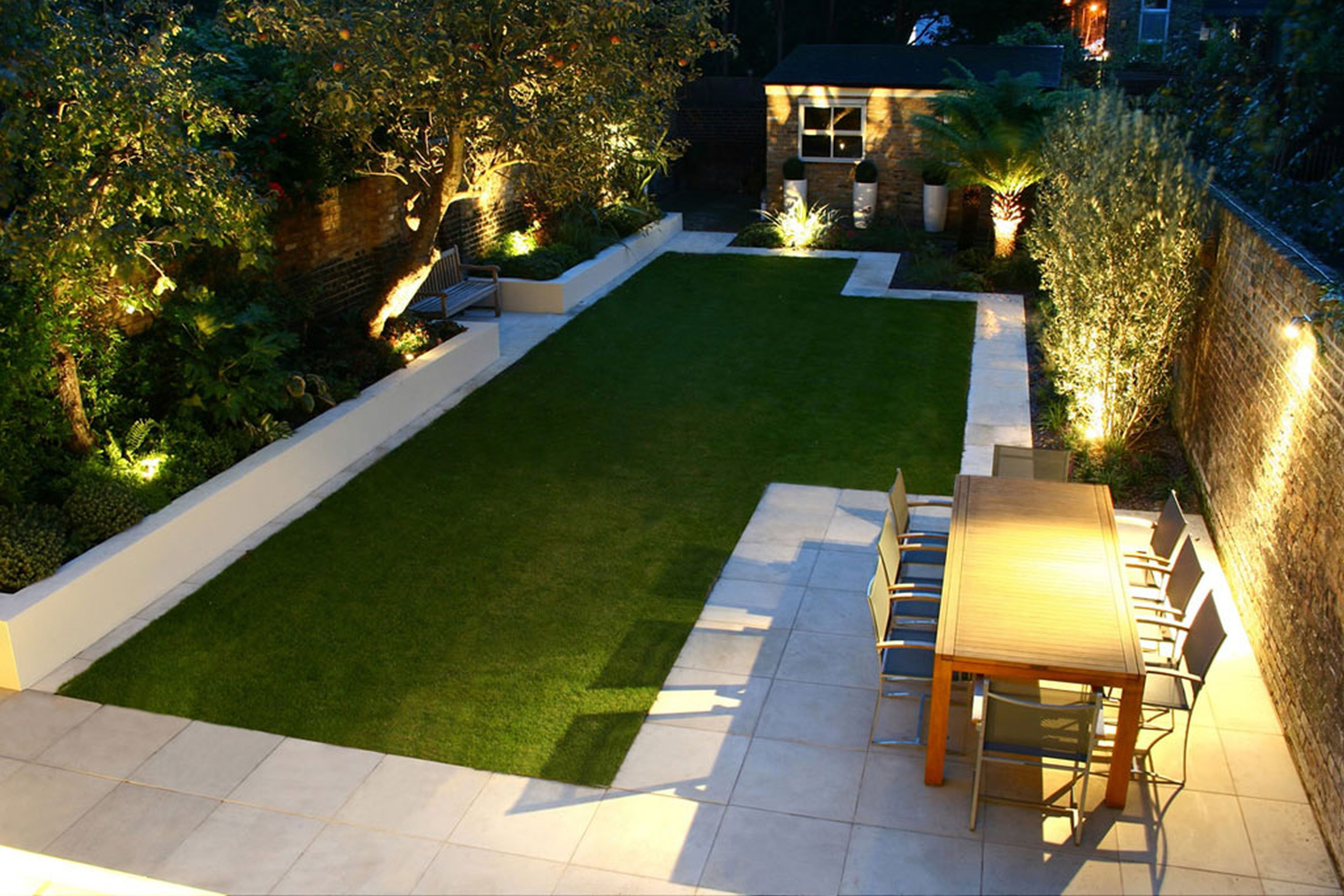 What Do I Do With A Long Lawn Design   Google Search