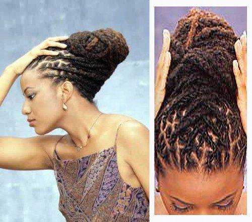 Coiffure de mariage cheveux antillais  44b2167cd29