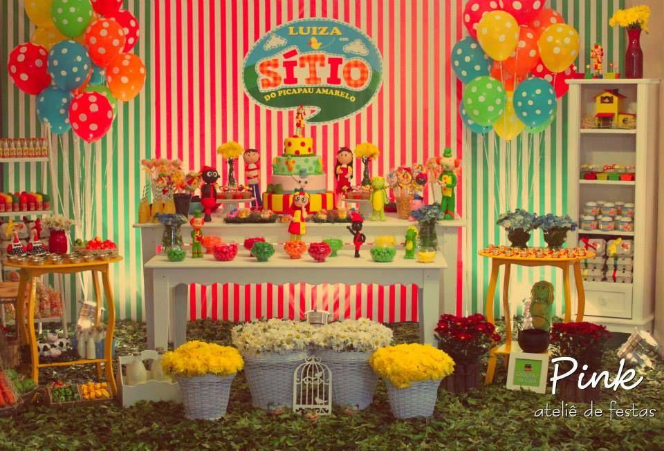 Festa Sitio Do Picapau Amarelo 2 Jpg 960 653 Com Imagens