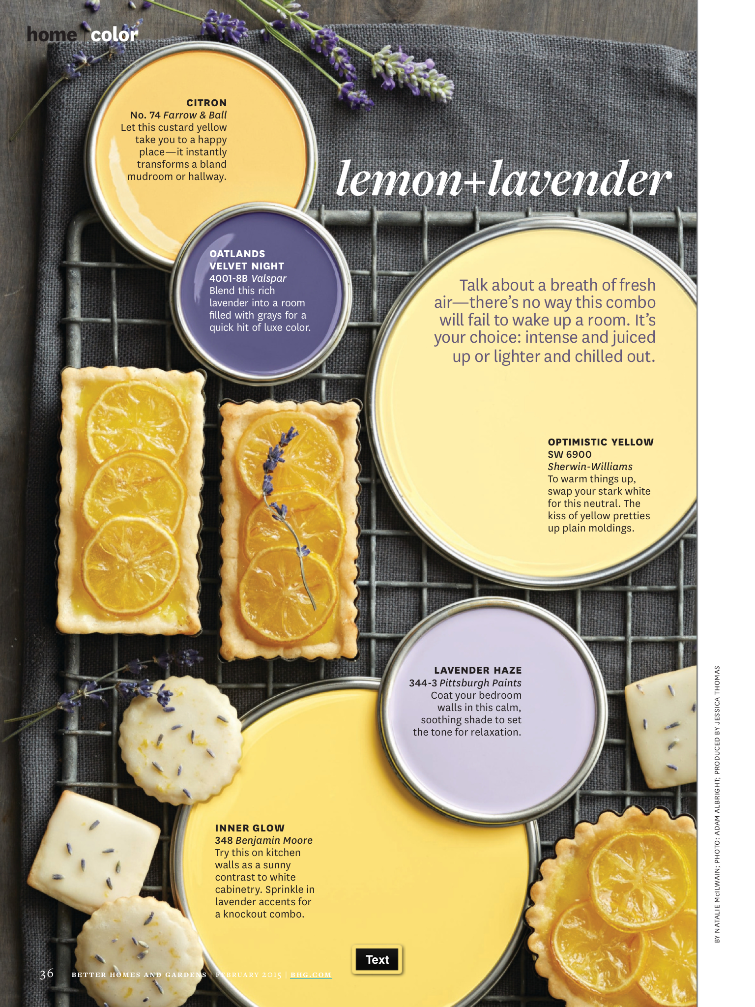 Better Homes and Gardens Lemon & Lavendar so glad I found this!! I ...