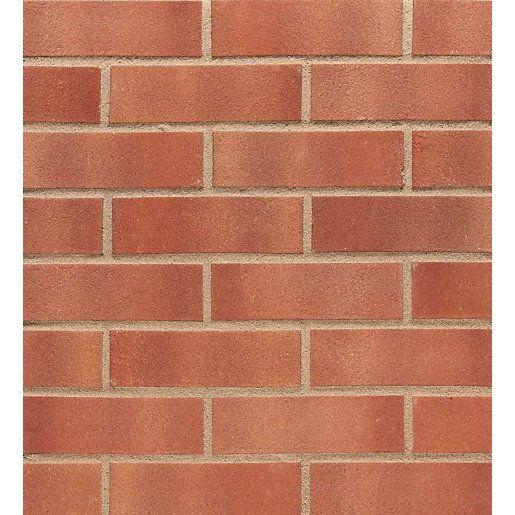 Facing Bricks: Wienerberger Facing Brick Cinnabar Red Multi