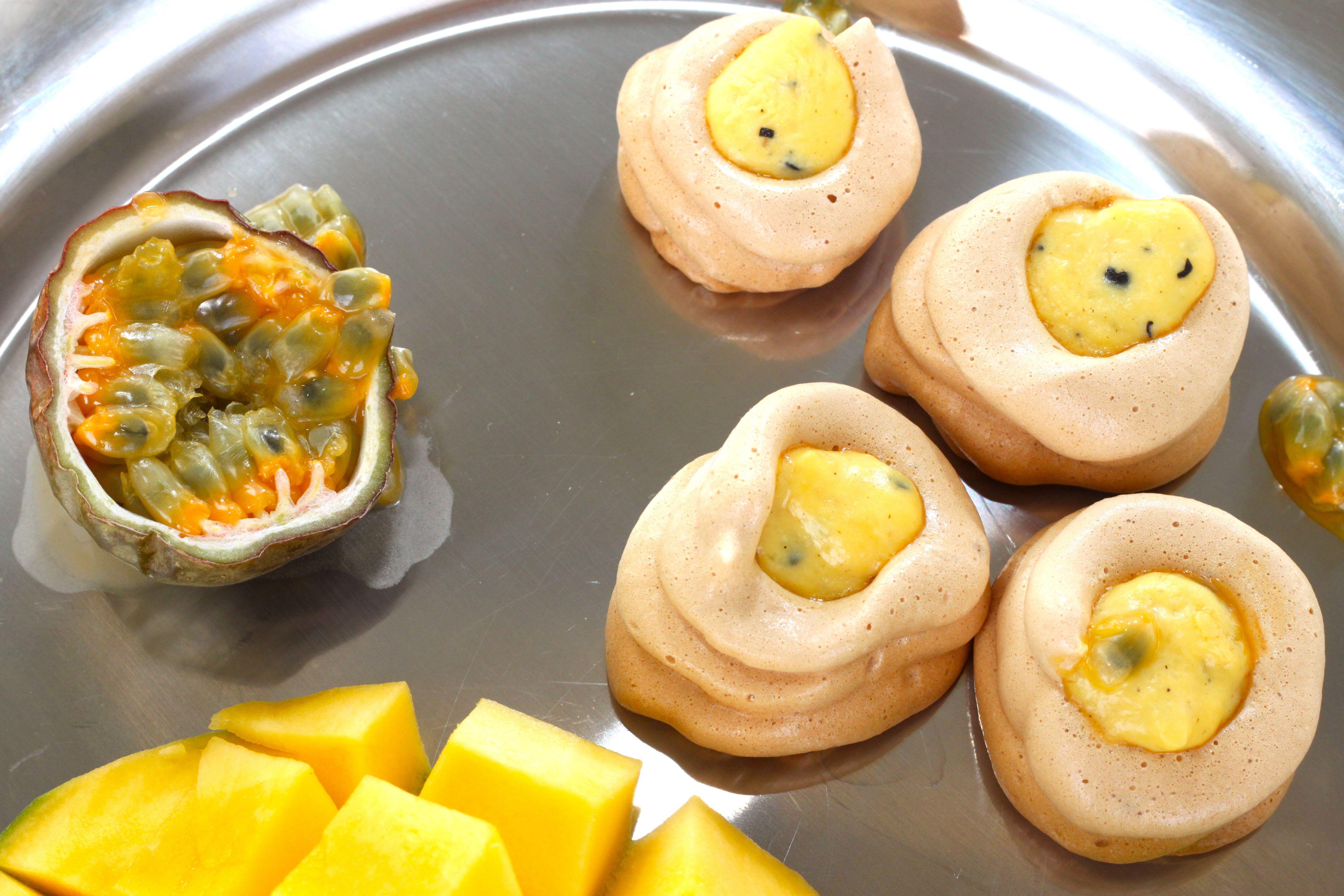 Luonnollisesti makeutettu marenki mangopassiontäytteellä