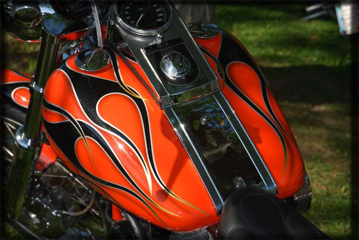 pinstriping black flames - Google Search