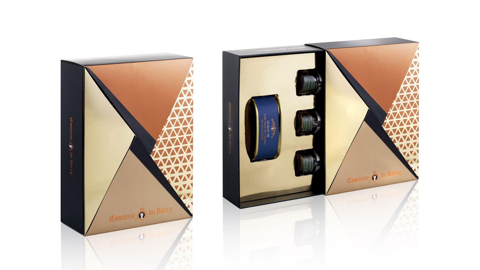 Comtesse Du Barry Christmas Coffret And Advent Calendar 2017 Holiday Packaging Design Creative Packaging Design Global Design