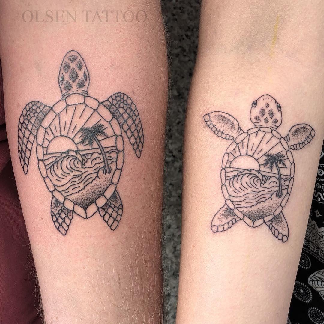 Daddydaughterday With Ariahoffman And Nhoffman75 Turtle Turtletattoo Seaturtle Sealife Beach Turtle Tattoo Designs Turtle Tattoo Tribal Turtle Tattoos