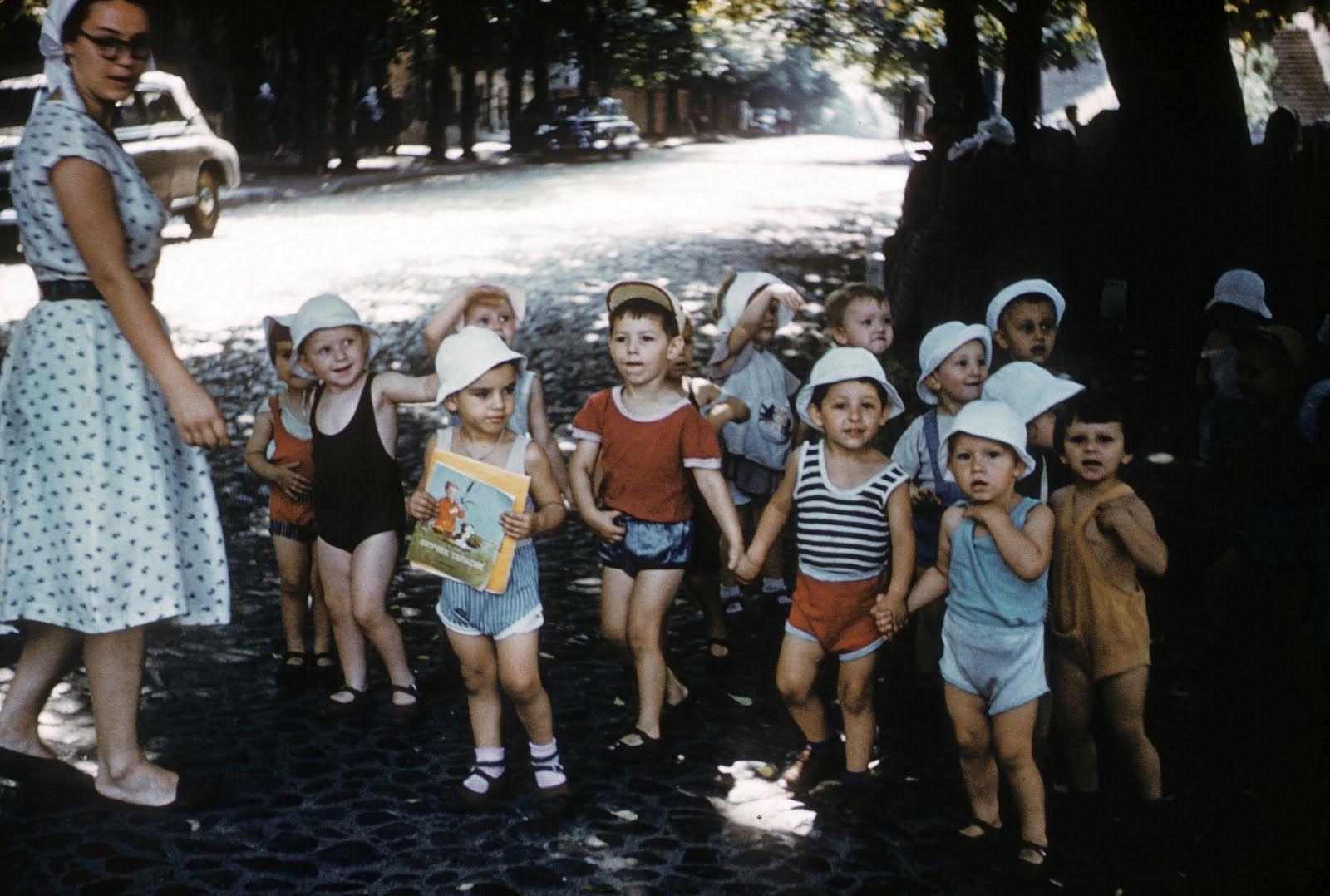 Джон Шульц в Киеве. 1958 год.