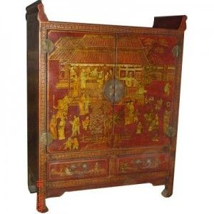 Pin Op Meubles Chinois Cuir