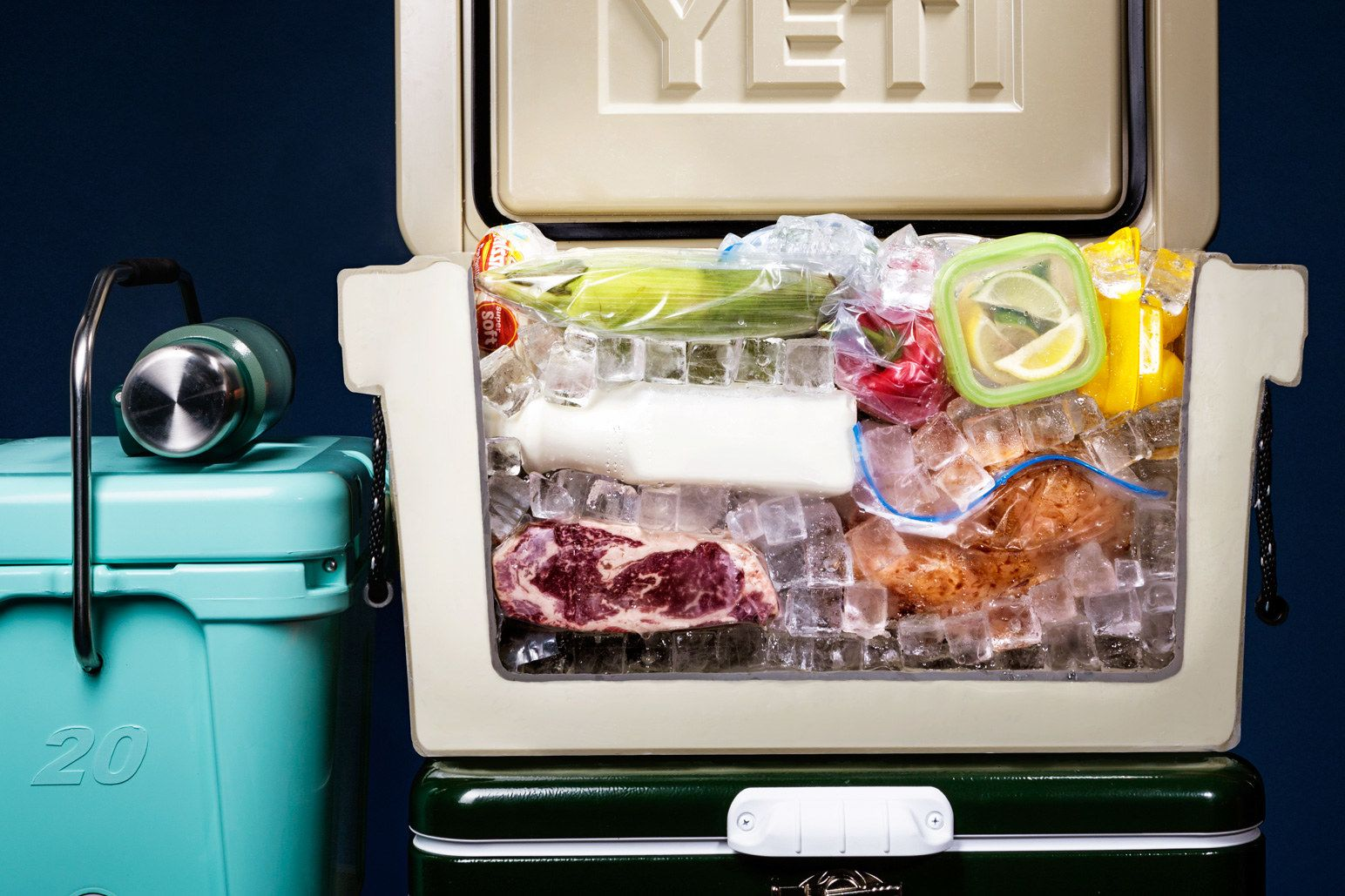 The Best Way To Pack Your Cooler For Camping Camping