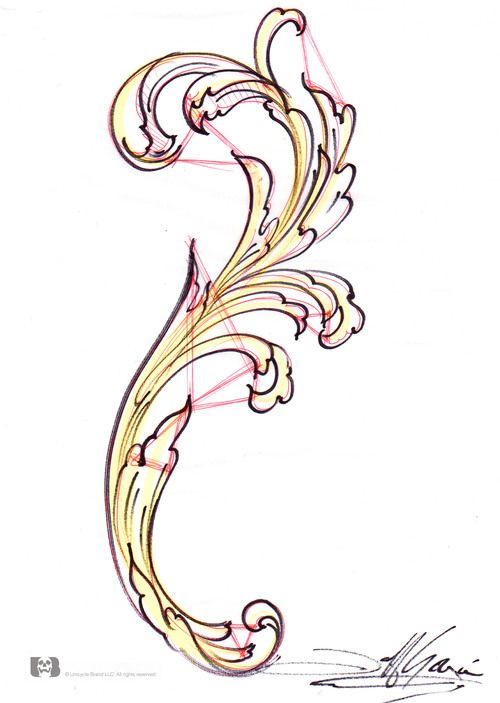 Filigree Tutorial Ornament Drawing Filigree Design Art