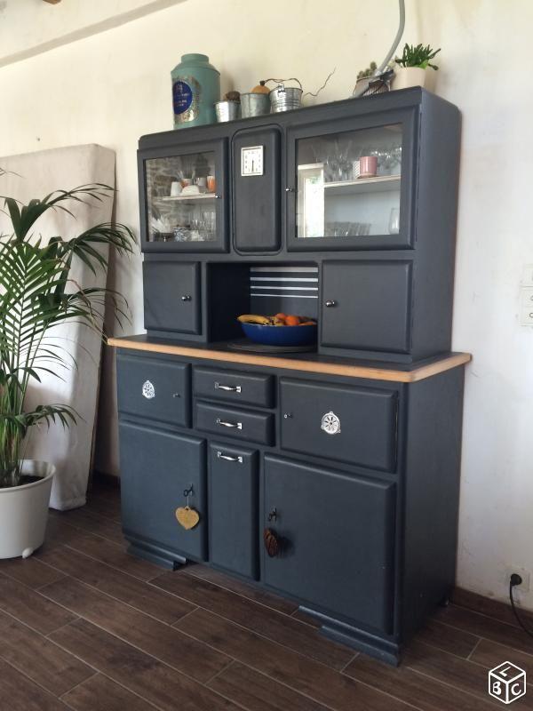 buffet de cuisine vintage ameublement finistère - leboncoin.fr