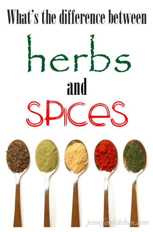 What is the Difference Between Herbs and Spices from Jennifer's Kitchen