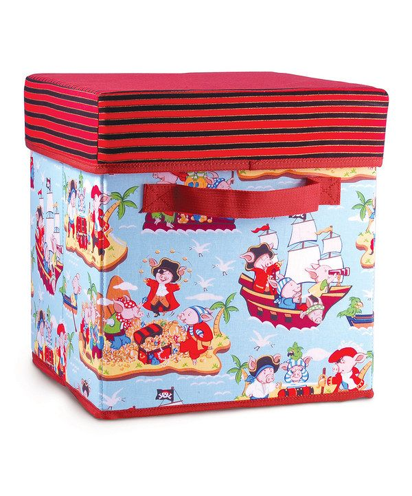 Take a look at this Piggy Pirates Storage Box Seat on zulily today!