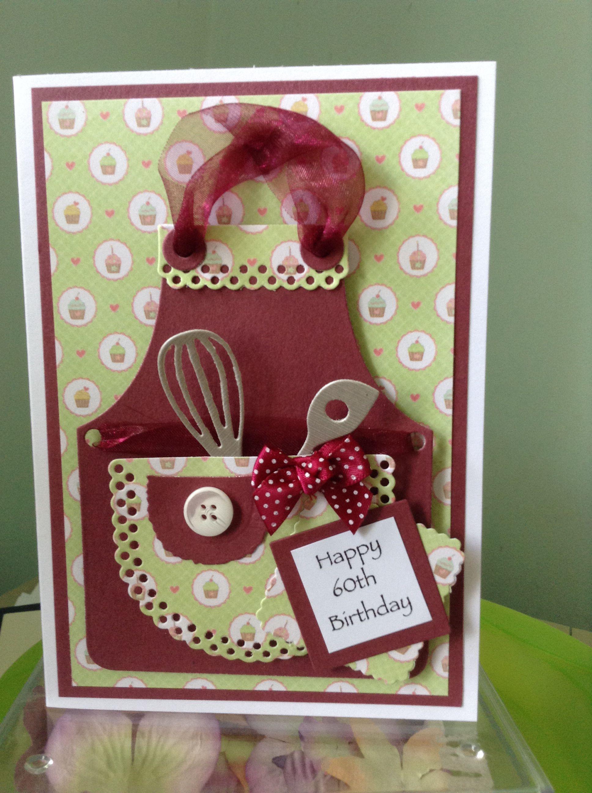 Apron 60th Birthday Banner Pinterest Apron Birthdays And Cards