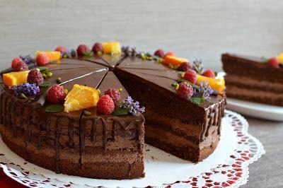 Julias zuckersüße Kuchenwelt SchokoOrangen Torte