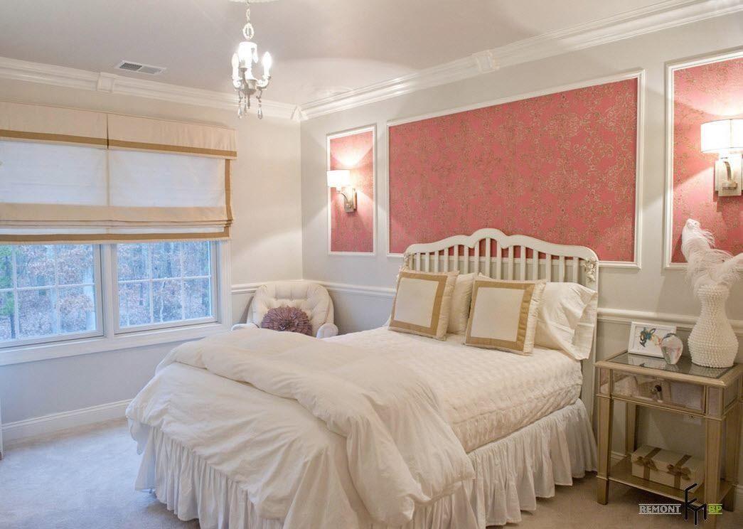 100 идей дизайна: обои в спальне | Варианты отделки стен ...
