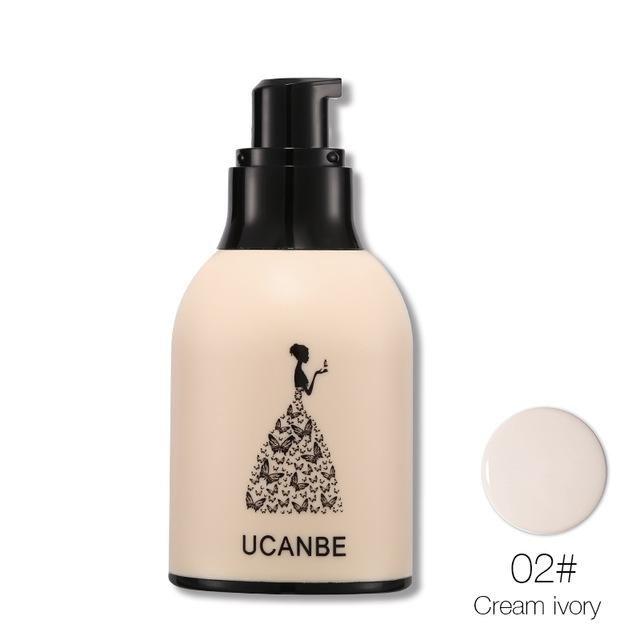 1pcs Ucanbe Long Lasting Liquid Foundation Silicone Puff Makeup