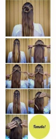28 Ideas hairstyles for school long messy buns,