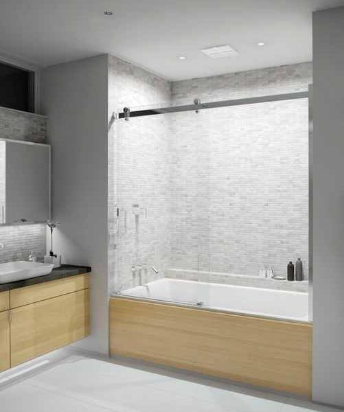 Serenity Sliding Glass Bathtub Doors Bathroom Pinterest Baños
