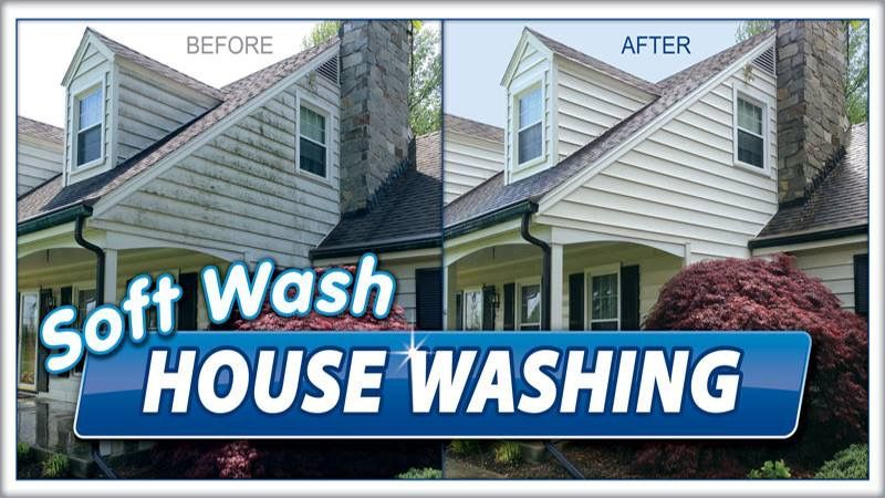 Pin By Platinum Pro Wash On Pressure Washing Roof Cleaning House Wash Grand Rapids Mi