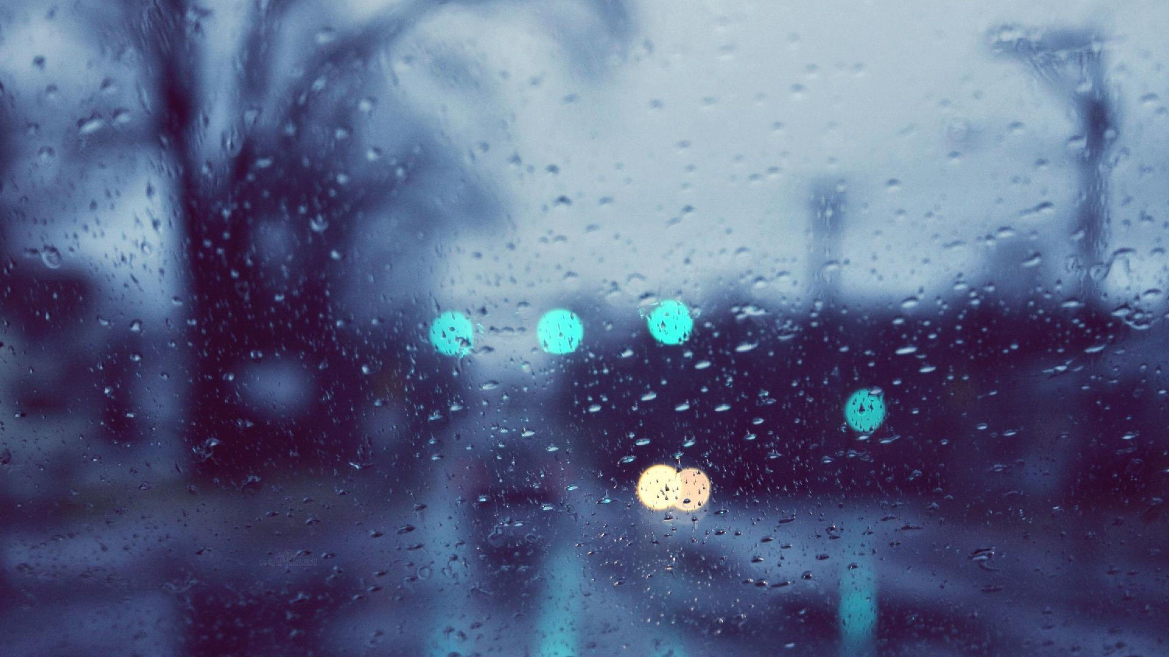 Rain Glare Glass Drops4k Wallpapers Rain Wallpapers Scenery Wallpaper Nature Wallpaper