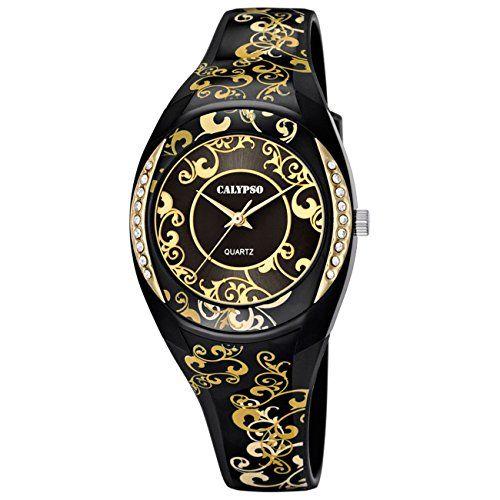 Calypso Watches Damenarmbanduhr mit Zirkonia K5621/6 - http://autowerkzeugekaufen.de/calypso-watches-8/calypso-watches-damenarmbanduhr-mit-zirkonia-6
