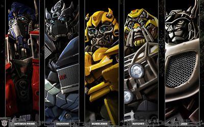 Optimus Prime Ironhide Bumblebee Ratchet Jazz Hd Wallpaper Transformers Imagenes Transformers Bumblebee Transformers