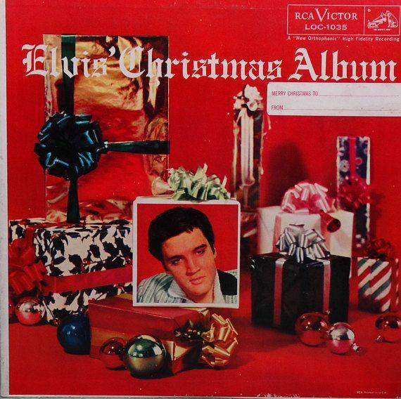 Elvis Christmas Album.Elvis Presley Elvis Christmas Album 1957 Lp Album