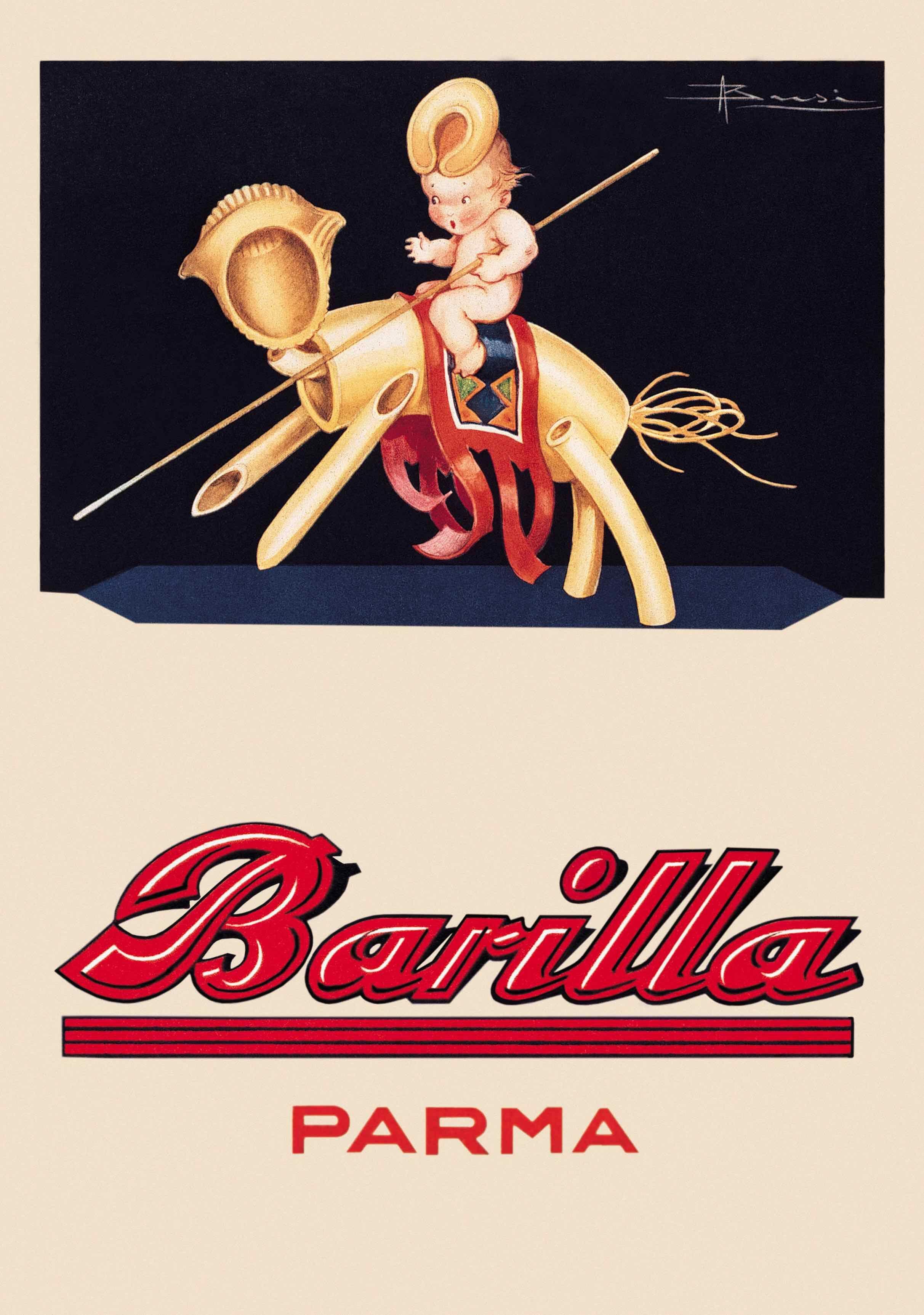 Barilla La Delicata Favola Della Pasta Vintage Advertisements Vintage Posters Retro Ads