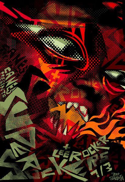 Gigposters Com Supersuckers Lee Rocker Gig Posters Rock