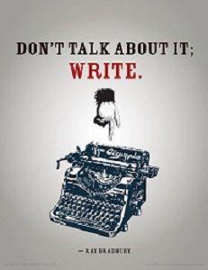 WRITING ABOUT WRITING #AmWriting