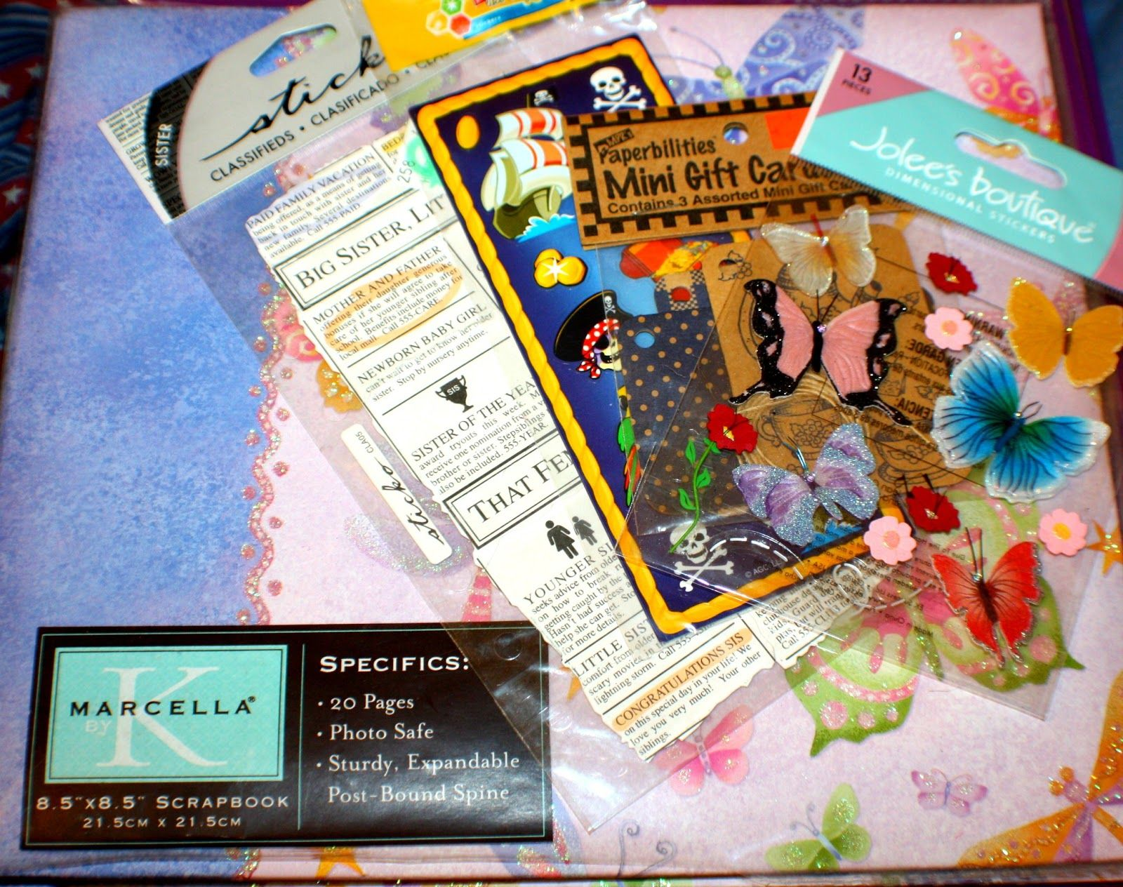 scrapbook giveaway Scrapbook, Flashing, Gifts