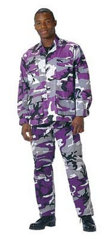 3ba7e16873f991 Military Fatigues (BDU's) Ultra Violet Camo Pants. Purple Camouflage BDUs ( Pants) from The Purple Store!