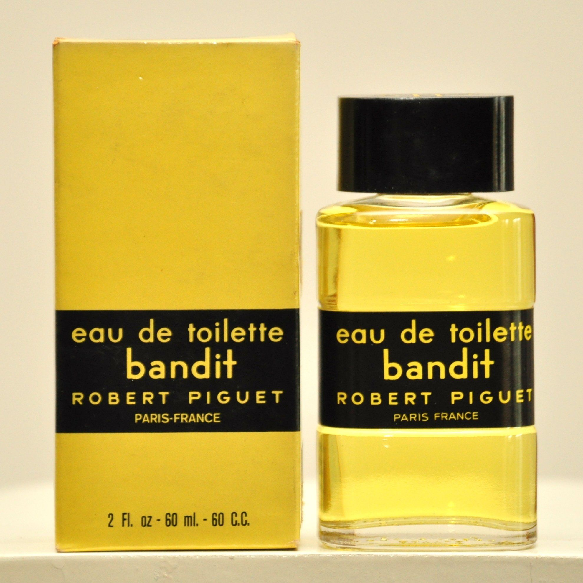 2bd8614bff838 Robert Piguet Bandit Eau de Toilette Edt 60ml 2 Fl. Oz. Splash No ...