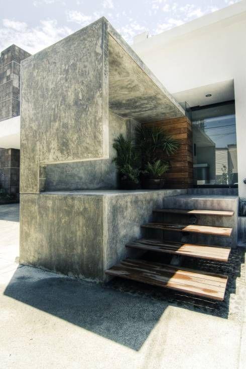 Seres centro hol stico casas de estilo minimalista por for Muebles seres