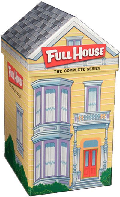 Full House The Complete Series Collection 32 Discs Full House Complete Series Full House Dvd