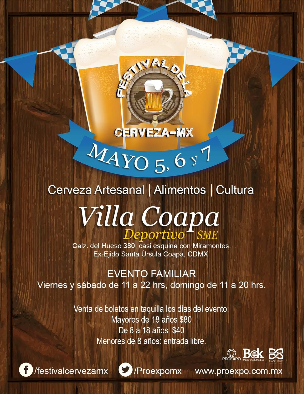 Festival de la Cerveza CDMX 5 7 mayo 2017