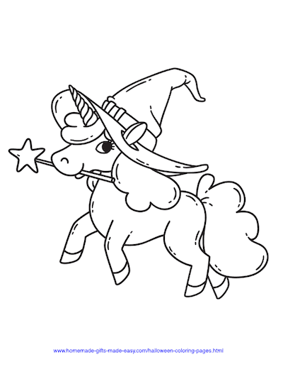 75 Halloween Coloring Pages Free Printables Witch Coloring Pages Halloween Coloring Pages Unicorn Coloring Pages