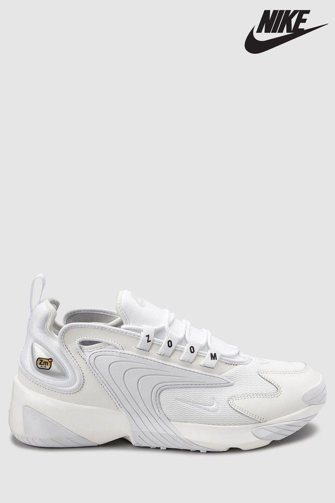 Mens Nike Zoom 2K - White | Nike shoes women, Hype shoes, Nike zoom