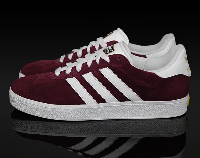 first rate 1df96 36426 Our favorite colors, maroon  white! Adidas Gazelle, Sneakers, Buy Shoes,